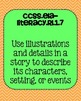 1st grade Reading Literature Common Core Standards Posters