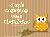 Common Core Standards Posters {Second Grade}
