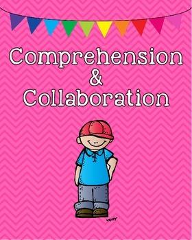 1st grade ELA Speaking & Listening Common Core Standards Posters
