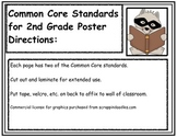 Common Core Standards Posters for Second Grade (2nd Grade)