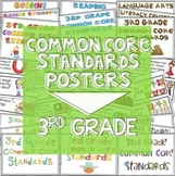 3rd Grade Common Core Standards Posters | I Can Statements