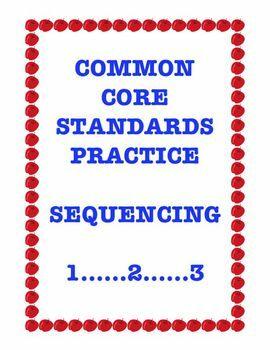 Common Core RI.3.8: Sequencing