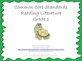Common Core Standards - Reading Literature Grade 1