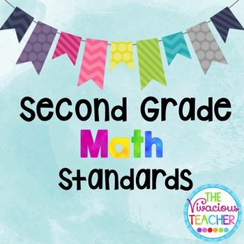 Common Core Standards Posters Second Grade Math