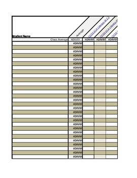 Common Core Standards, Second Grade Reading: Mastery/Grade Tracking Spreadsheet