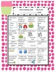 Common Core Standards Sheet for 1st Grade (English and Spanish) SWEET TREATS