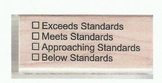 Common Core Standards Stamp--Curently Out of Stock