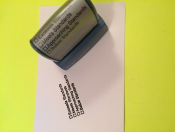 Common Core Standards Stamp (Pre-Inked)