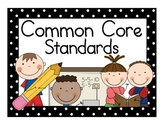 Common Core Standards Subject Headings