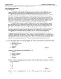 Common Core Standards Test English Language Arts Grade 12