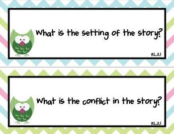 Common Core Standards and Essential Questions for 2nd Grade Reading-Owl