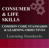 Common Core Standards and Learning Objectives- High School Special Education