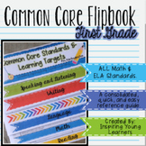 Common Core Standards and Learning Targets Flipbook- First Grade