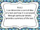 Common Core Standards for ELA Grade 6 W/Tracking Sheets