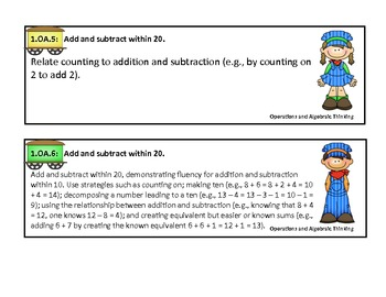 Common Core Standards for Grade One