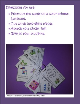 Common Core Standards for Math Practice Study Cards