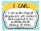 Common Core Standards for Mathematical Practice: Student Friendly I Can Posters