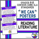 Back to School Common Core Standards for Reading Literature  PowerPoint