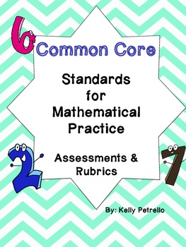 Common Core: Standards of Mathematical Practice Rubrics & Assessments