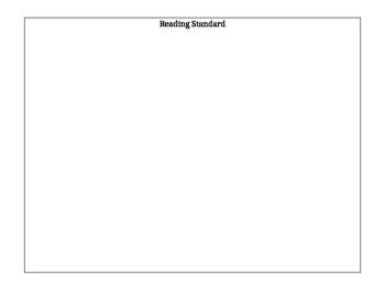 Common Core Standards reading grade book