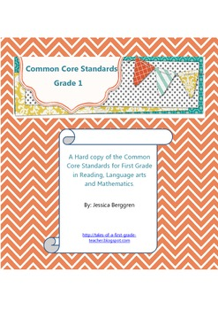 Common Core Standards:Grade 1{FREE}