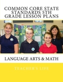 Common Core State Standards 5th Grade Lesson Plans - Langu