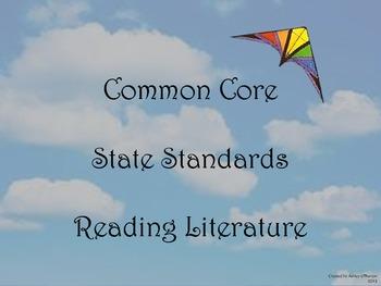 Common Core State Standards 4th Grade Reading Literature