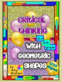Critical Thinking with Geometric Shapes - Common Core alig