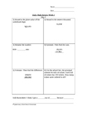 Common Core State Standards Daily Math Review, Week 2