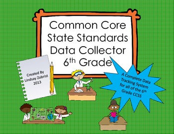 Common Core State Standards Data Tracking System 6th Grade