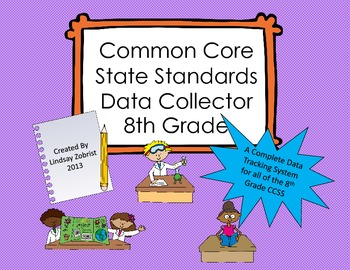 Common Core State Standards Data Tracking System 8th Grade