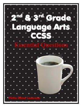 English Language Arts Common Core 2nd and 3rd grade Diner Theme