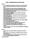 Common Core State Standards Grade 1 Curriculum Maps