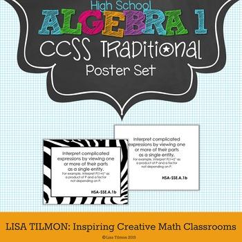 Common Core State Standards: High School Algebra 1-Traditi