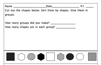Common Core State Standards Kindergarten Math Worksheets