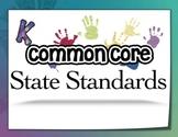 Common Core State Standards - Kindergarten - Poster Pack