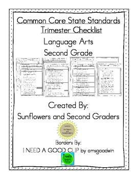 Common Core State Standards Language Arts Second Grade Tri