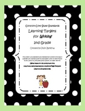 Common Core State Standards:  Learning Targets for Writing