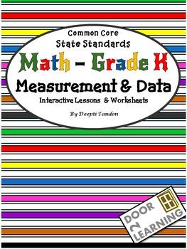 Common Core State Standards Math - Grade K Measurement & Data
