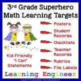3rd Grade Checklist, 3rd Grade Assessment, Data Tracking,