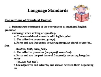Common Core State Standards for Language