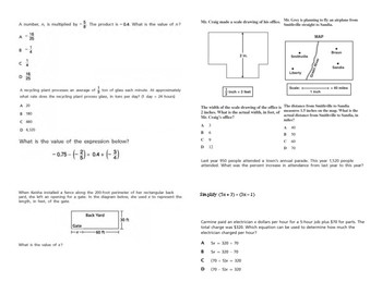 Common Core State Test Prep - Grade 7