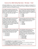 Common Core State Testing Task Cards - 4th Grade - 4.OA.1