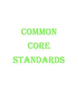 Common Core Statements