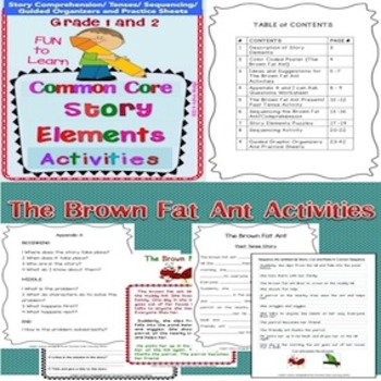 Story Elements Activities