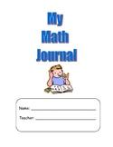 Common Core Strategies Math Journal