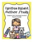 Cynthia Rylant Author Study Unit (Common Core Strategy Sessions)