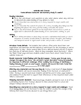 Tomie dePaola Author Study Unit (Common Core Strategy Sessions)