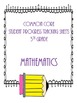 Common Core Student Progress Tracking Sheets {5th Grade}