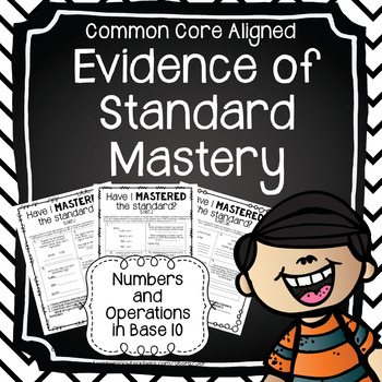 Evidence of Mastery: Numbers and Operations in Base 10 (5th Grade)
